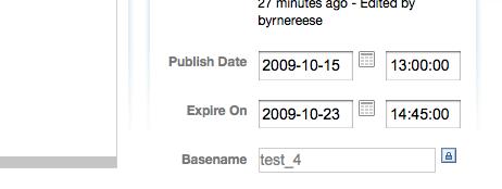 Expired Entries Screenshot